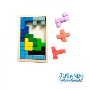 Tetris Didactico De Madera