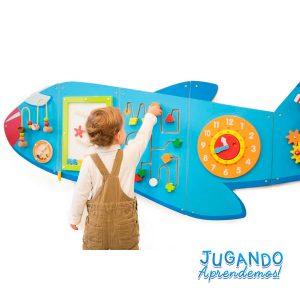Juego didáctico de avión
