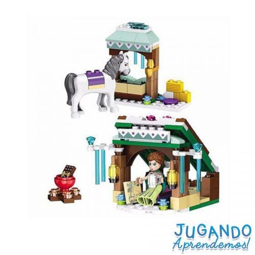 Lego carruaje princesa